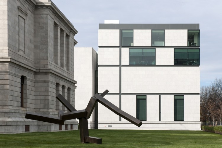 Art of Americas Wing at the Museum of Fine Arts, Boston, © Nigel Young, Foster + Parners