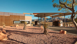 Red Rock Canyon Visitor Center / Line and Space