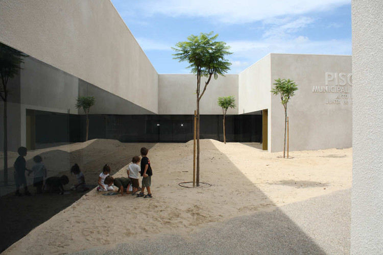 Sports Pavilion In Cadiz, Courtesy of EDDEA