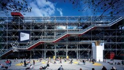 AD 经典:蓬皮杜中心 / Renzo Piano Building Workshop  + Richard Rogers