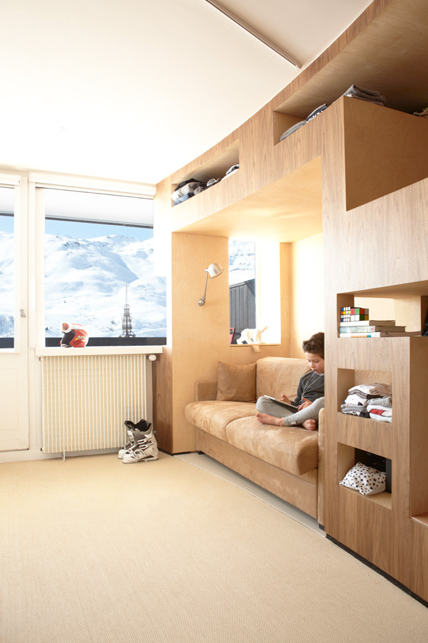 Loft Bed With Desk And Storage For Adults
