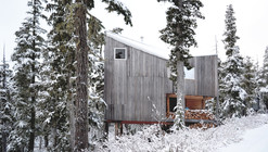 可移动的高山滑雪小屋 / Scott & Scott Architects
