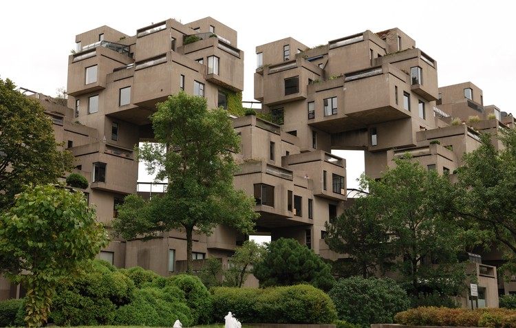 AD经典:Habitat 67 / Moshe Safdie, Photo by Wladyslaw via <a href='https://creativecommons.org/licenses/by-sa/3.0/'>Wikimedia</a> Commons