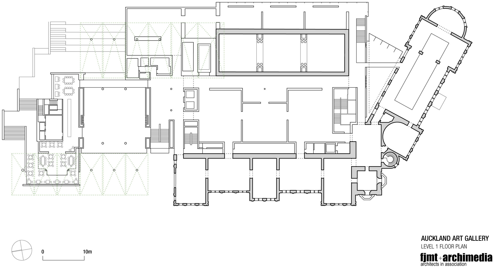 Fjmt archimedia 8 for House plans photo gallery