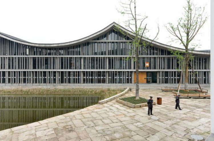 New Academy of Art in Hangzhou, photo © Iwan Baan