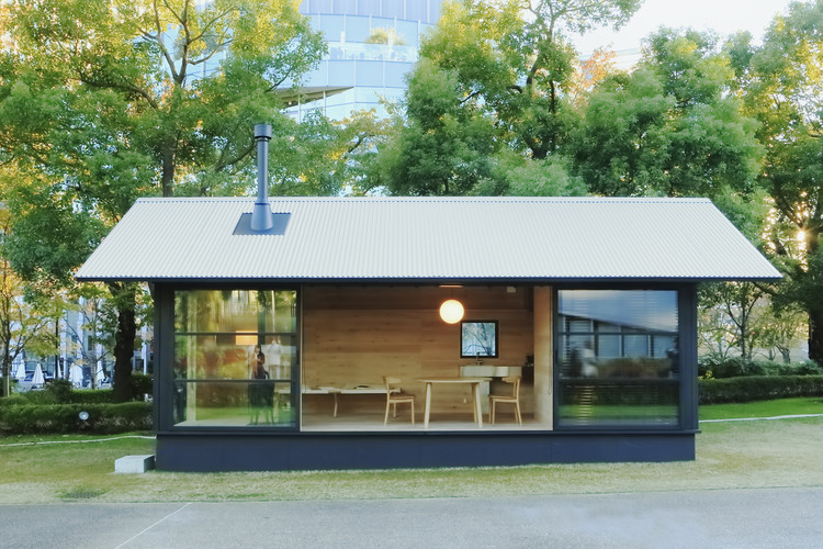 Muji archdaily for Small hut design