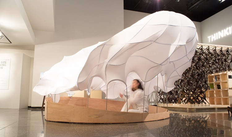 Pop-Up Shelter (University of Tokyo). 图片致谢 © Jun Shimada