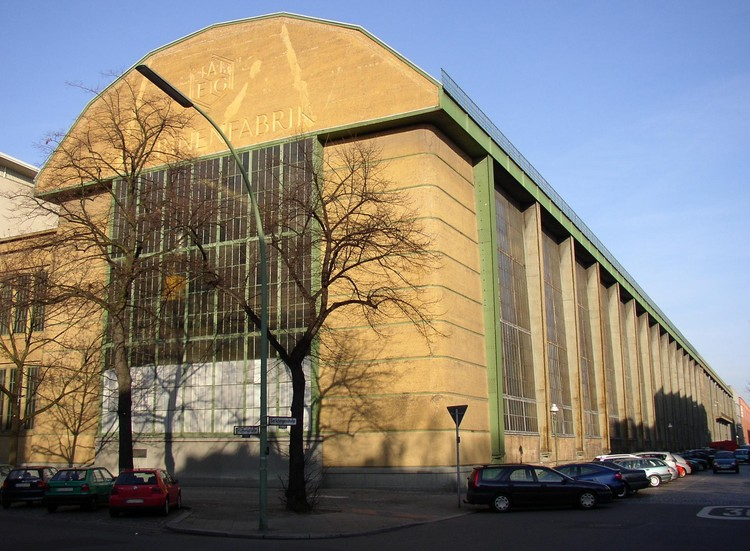 AD聚焦:彼得·贝伦斯 , The AEG Turbine Factory. Image © <a href='https://commons.wikimedia.org/wiki/File:Berlin_AEG_Turbinenfabrik.jpg'>Wikimedia user Doris Antony</a> licensed under <a href='https://creativecommons.org/licenses/by-sa/3.0/deed.en'>CC BY-SA 3.0</a>