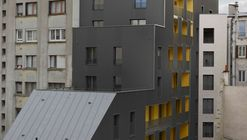 拾级而上,每一层都是不一样的街景 Mercadet  / Verdier + Rebiere architects + F. Commerçon architect