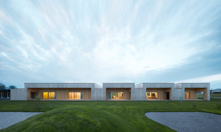 鸭子湖畔的幼儿园 / Bernardo Bader Architekten, Courtesy of Bernardo Bader Architekten