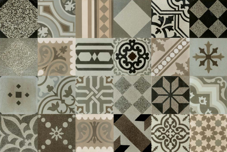 Hydraulic Tiles. Image Courtesy of Apavisa