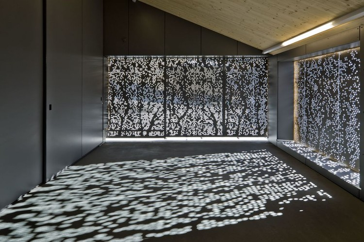 Shading Screens - Perforated Facade Panels. Image Courtesy of Bruag