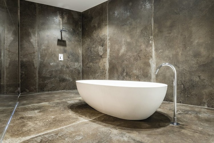 Porcelain Tiles: MaxFine Iron Collection. Image Courtesy of FMG