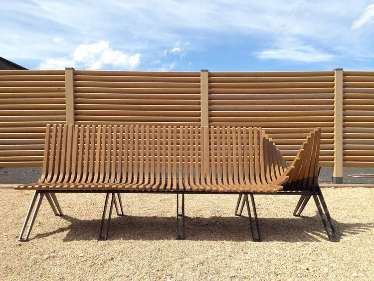 Accoya® for Garden Furniture. Image Courtesy of Accoya