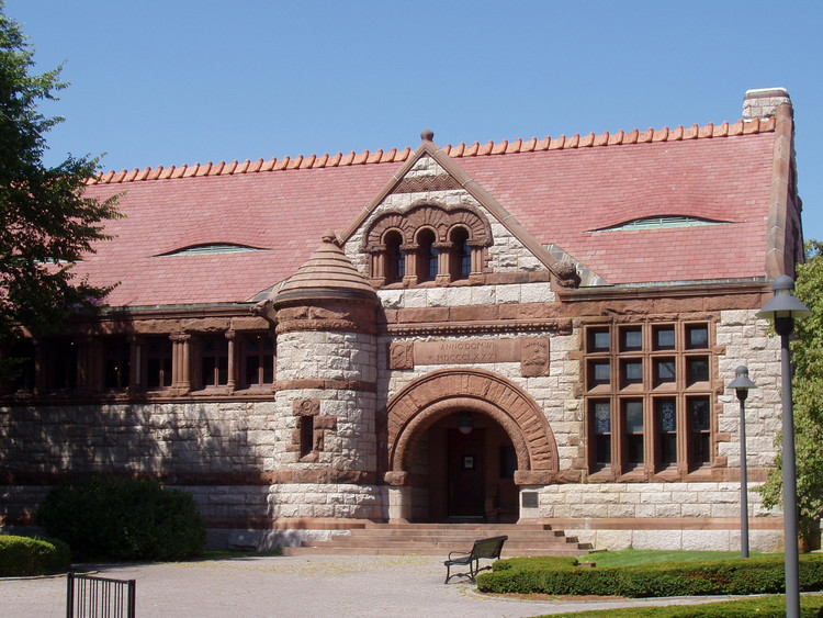 Thomas Crane Public Library. Image © Wikimedia user Daderot licensed under CC BY-SA 3.0