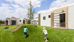 用建筑的趣味激发儿童的想象力 Public Nursery in Glyfada / KLab architecture