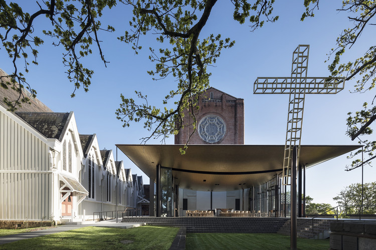 塞尔温主教教堂 Bishop Selwyn Chapel / Fearon Hay Architects, © Patrick Reynolds