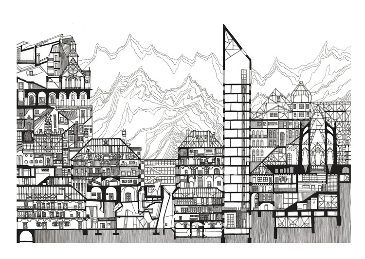 The Layered City. Image Courtesy of Alina Sonea
