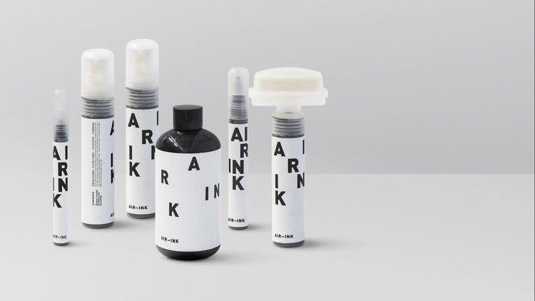 AIR-INK / Gravity Labs. Image Courtesy of The Design Museum in London