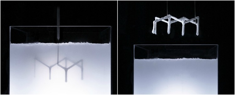 Rapid Liquid Printing / MIT Self-Assembly Lab. Image Courtesy of The Design Museum in London
