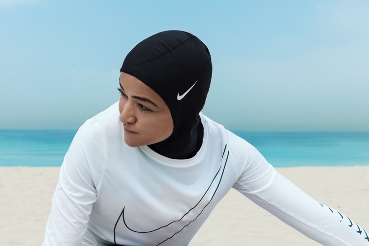 Nike Pro Hijab / Nike. Image Courtesy of The Design Museum in London