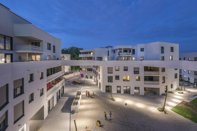 "慕尼黑""冒险艺术""住宅荣获 DAM 年度最佳建筑奖!, WINNER: wagnisART Residential Housing Project, Munich / bogevischs buero and SHAG Schindler Hable Architekten. Image © Julia Knop"