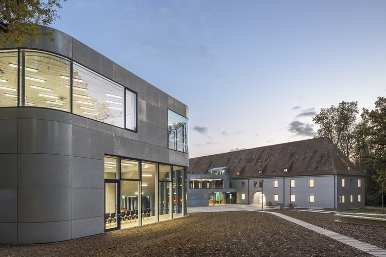 FINALIST: Zeppelin University Main Campus, Friedrichshafen / as-if Architekten. Image © Andreas Meichsner