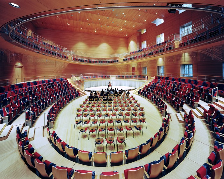 SHORTISTED: Pierre Boulez Hall at the Barenboim-Said Academy, Berlin / Gehry Partners / Rw+ / Hg Merz. Image © Volker Kreidler