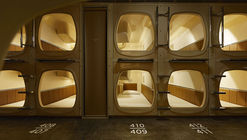 ºC (Do-C) 胶囊酒店 / Schemata Architects