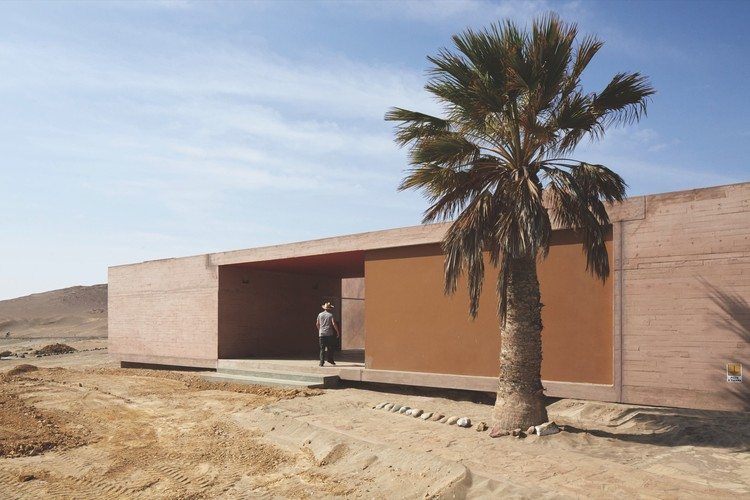 Site Museum of Paracas Culture / Barclay & Crousse. Image © Cristobal Palma