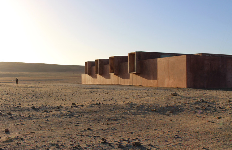 "两位南美建筑师赢""2018女性建筑师""奖, Site Museum of Paracas Culture / Barclay & Crousse. Courtesy of Barclay & Crousse. Image"