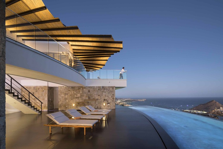 Casa Amber,俯瞰海景的阶梯住宅 / Centerbrook Architects & Planners, © Peter Aaron/OTTO
