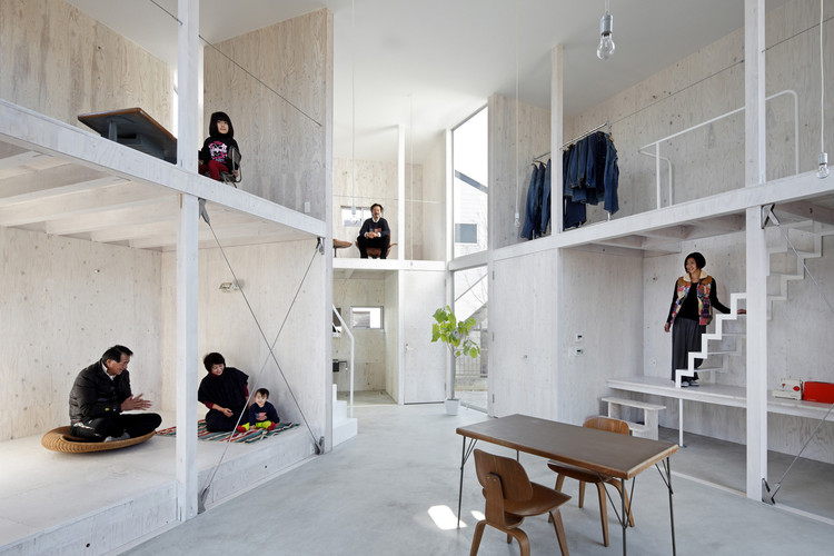 当生活遇上工作,26个混合住宅空间, Cortesía de Naoomi Kurozumi Architectural Photographic Office