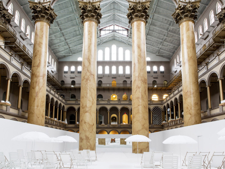 2018 Vincent Scully建筑评论大奖公布!, National Building Museum. Image © Snarkitecture