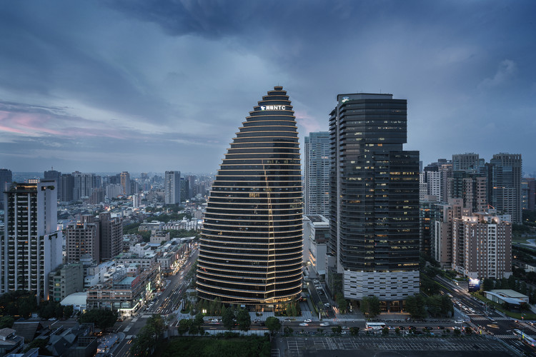 台湾NTC商贸中心 / Aedas, Courtesy of Aedas