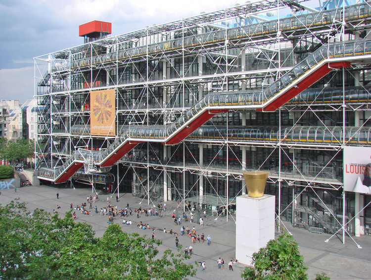 2019第75届AIA美国建筑师协会金奖授予理查德·罗杰斯  , Centre Georges Pompidou / Richard Rogers + Renzo Piano. Image © Flickr user dalbera licensed under CC BY 2.0