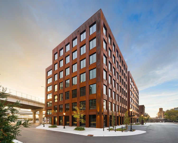 美国最大木构建筑即将建成!, T3 Minneapolis. Image Courtesy of DLR Group