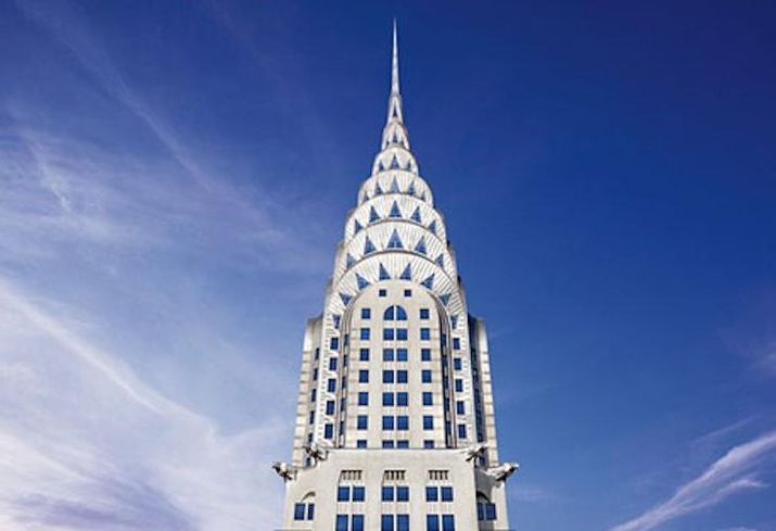 纽约市克莱斯勒大楼即将上市出售, Chrysler Building. Image Courtesy of Tishman Speyer