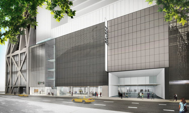 MoMA扩建项目由DS+R设计,预计10月开幕, Exterior view of The Museum of Modern Art on 53rd Street . Image © Diller Scofidio + Renfro