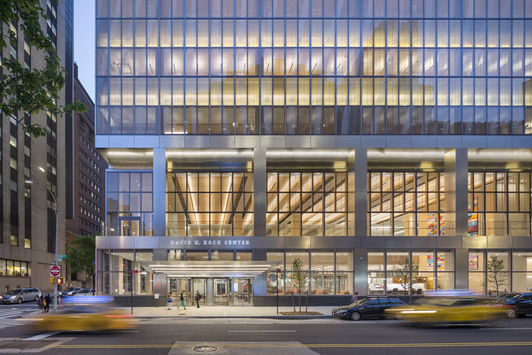 纽约长老会医院中心 David H.Koch / HOK + Ballinger + Pei Cobb Freed, © Albert Vecerka Esto