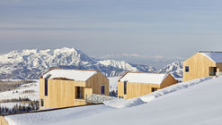 地平线社区,雪山顶的雪松小屋集群 / MacKay-Lyons Sweetapple Architects