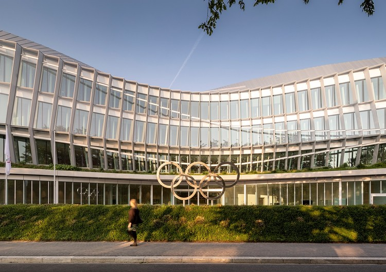 3XN设计的奥林匹克之家在洛桑开幕, Olympic House. Image © International Olympic Committee (IOC) / MORK, Adam