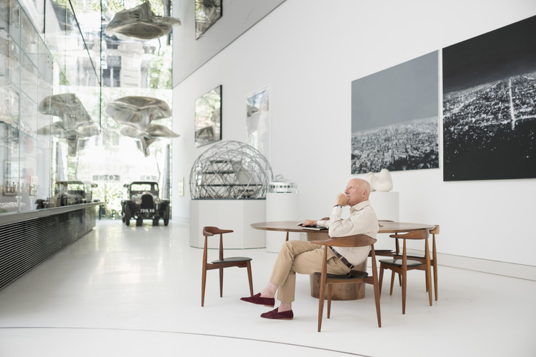 福斯特建筑事务所开拓智利地图,首个项目扩建工业区, Norman Foster, Founder and Executive Chairman, Foster + Partners. Image © Guillermo Rodríguez