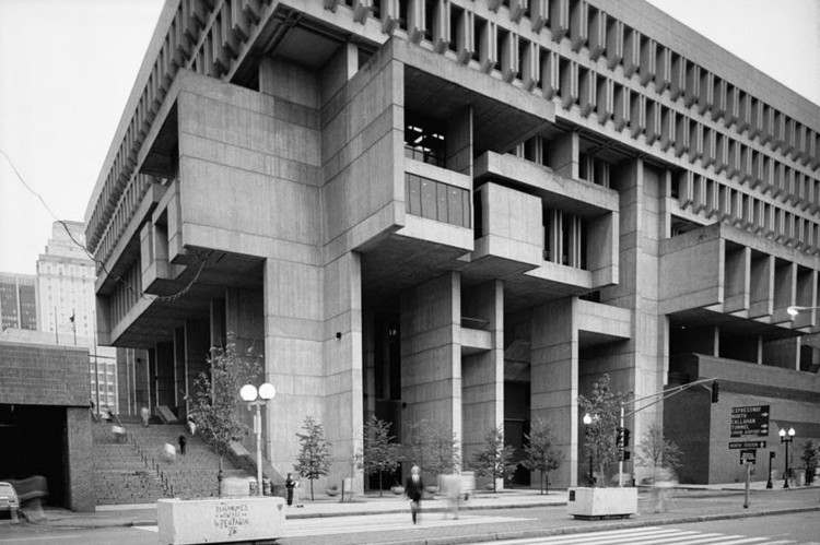 美国建筑师 Michael McKinnell,死于新型冠状病毒, Boston City Hall. Image Courtesy of Kallmann, McKinnell, & Knowles