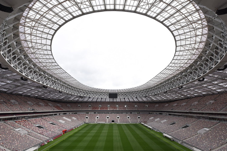 AR与VR技术将如何改变未来体育场馆的观赛模式?, Luzhniki Stadium, designed by Russia-based firm SPEECH. Image © Dmitry Chistoprudov