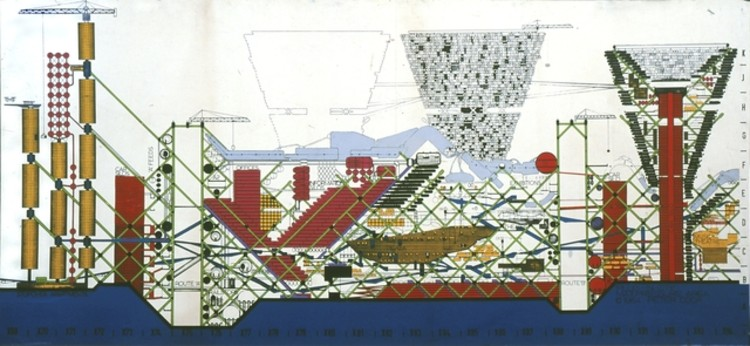 AD 经典: 插入式城市  / Peter Cook, Archigram , by Peter Cook via Archigram Archives