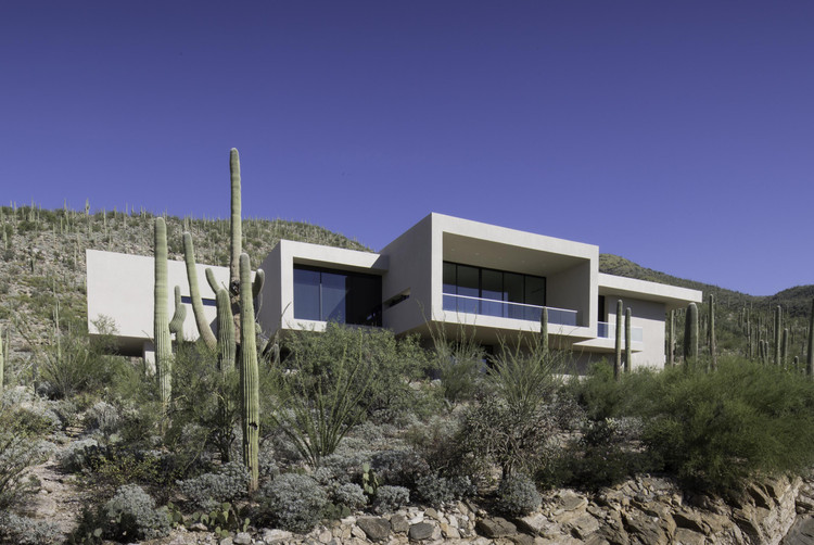 Sabino Springs别墅/ Kevin B Howard Architects, © Winquist Photography
