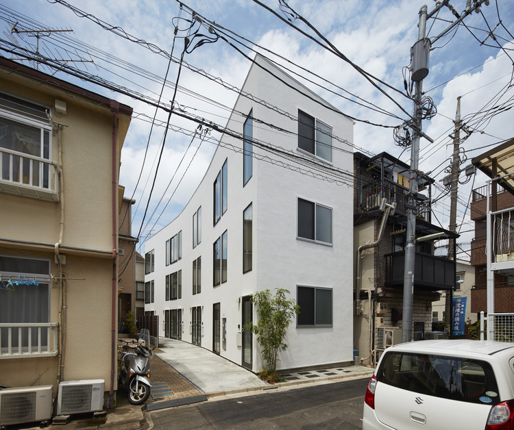 """高冷""住宅 E-1 / Naf Architect & Design, © Toshiyuki YANO"