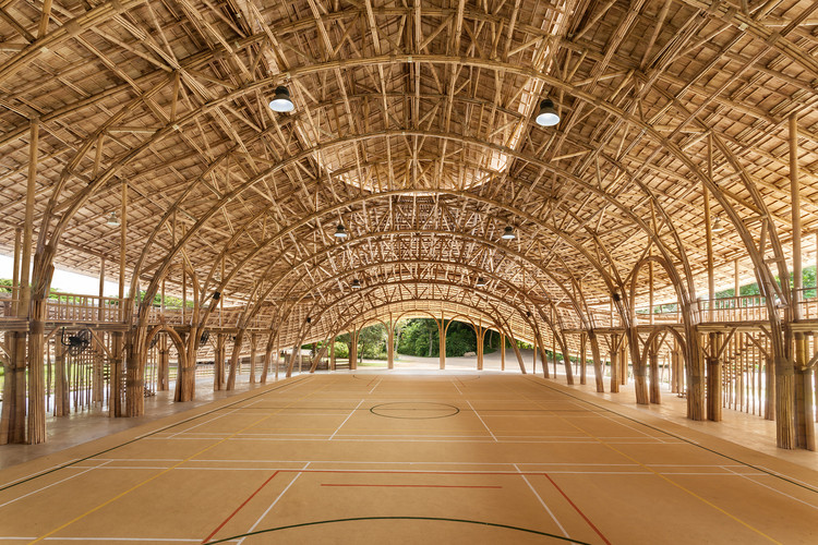 2019年影响建筑发展的11种趋势, © Alberto Cosi. ImageBamboo Sports Hall for Panyaden International School / Chiangmai Life Construction