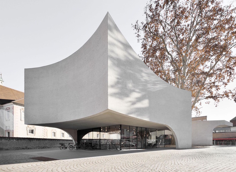 2020 ICONIC 大奖征集开始!, Tourist Information Center by MoDus Architects, awarded selection in the ICONIC AWARDS 2019: Innovative Architecture. Image Courtesy of German Design Council